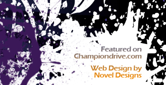Featured on Championdrive.com - Web Design by Novel Designs